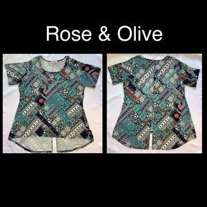 Rose & Olive, 2x Soft Cotton Blouse.
